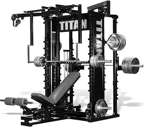 home gym equipment all in one